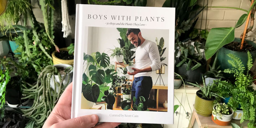 Boys with Plants: The Book